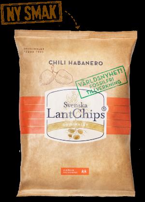 Chips, LantChips Chili Habanero 200g